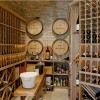 Serra Retreat Property Wine Cellar