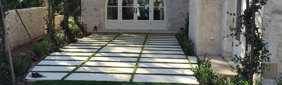Before and After Photos of Stone Pavers